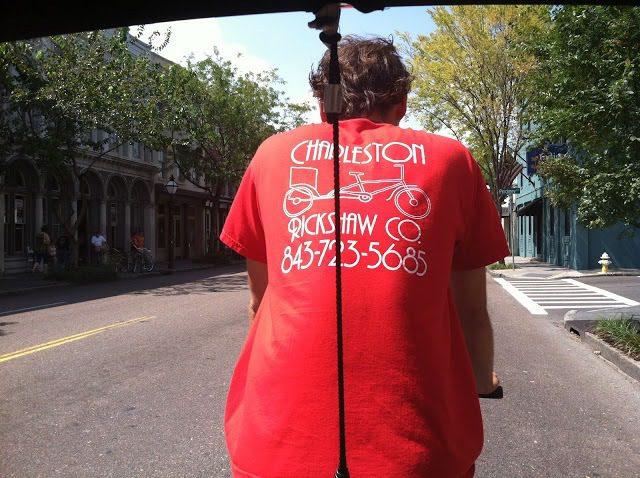 Rickshaw in Charleston