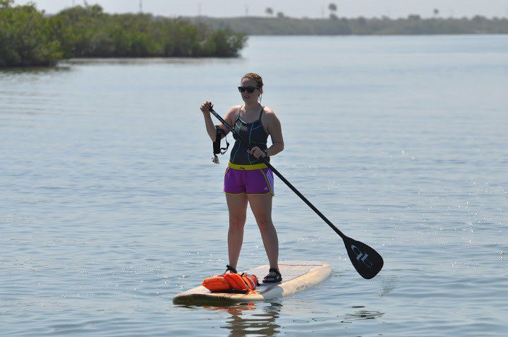 Stand Up Paddleboarding In New Smyrna Beach Florida