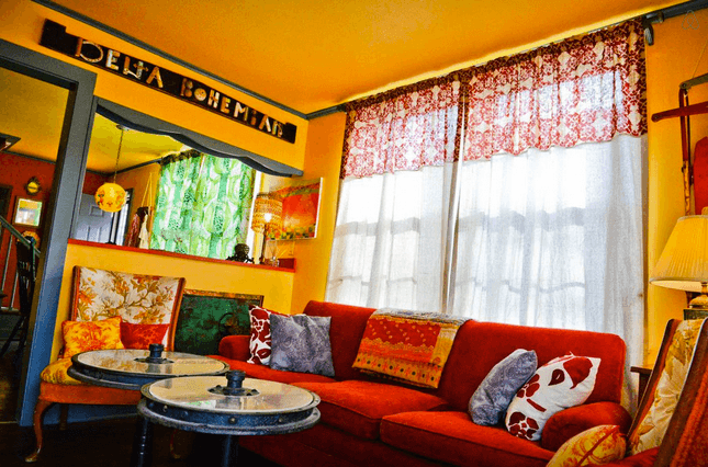 Bohemian guesthouse Airbnb Clarksdale, Mississippi