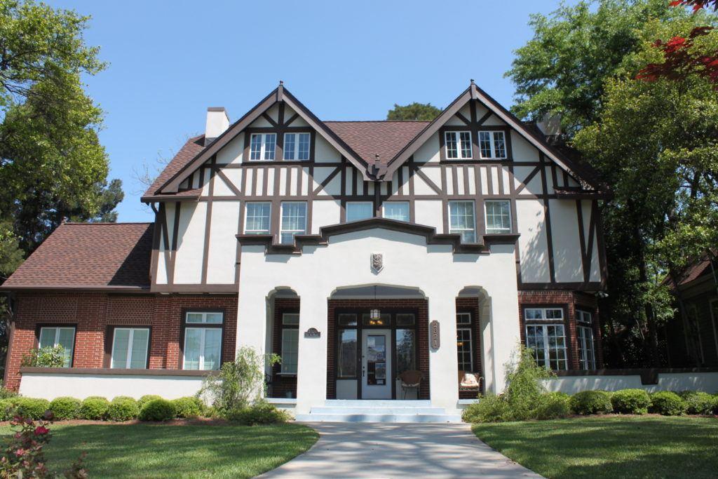 Tudor style home in Macon, Georgia