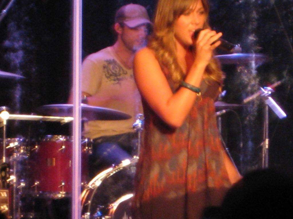 Colbie Callait at the Music Farm