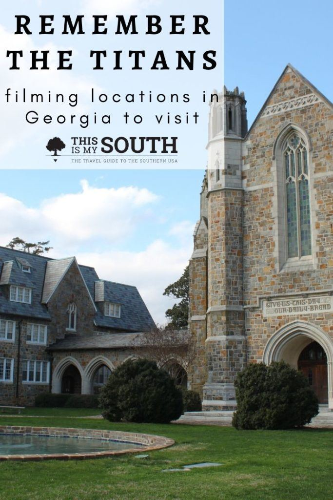 remember the titans filming locations