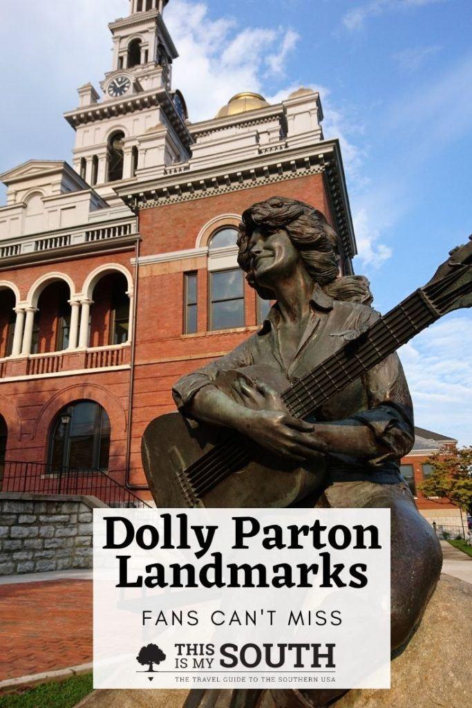 Dolly Parton landmarks