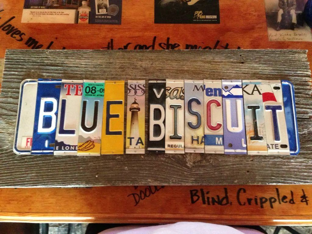 Blue Biscuit, Credit: Airbnb