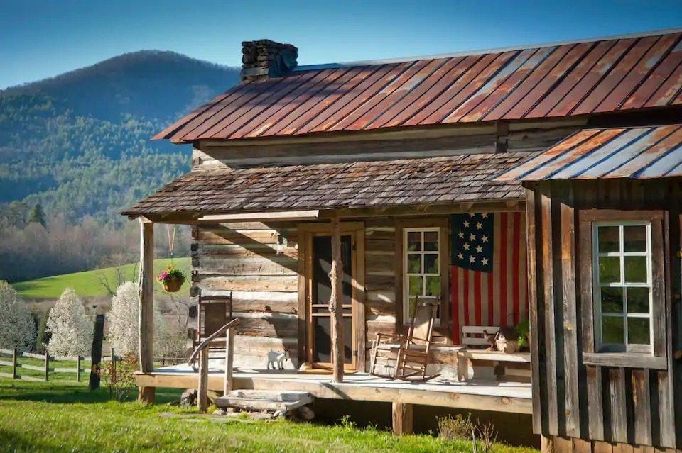 Rabun Gap log cabin